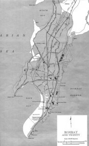 Bombay-Map-With-Reclamation-Areas, Mumbai