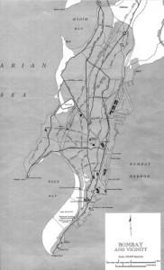 Bombay-Map-With-Reclamation-Areas, Mumbai