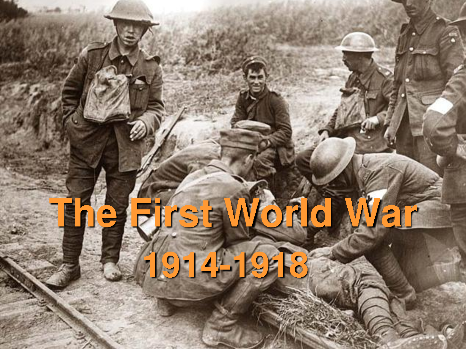 How did World War I start and end?