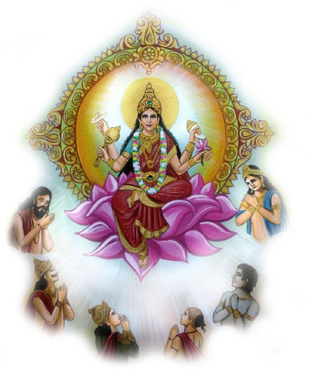 Ninth Avatar of Goddess Durga – GODDESS SIDDHIDATRI