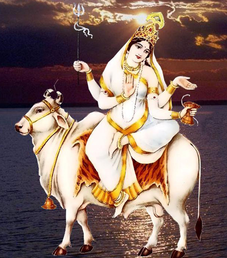 Eight Avatar of Goddess Durga – GODDESS MAHAGAURI