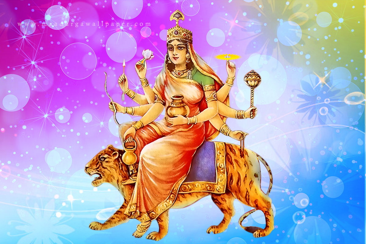 Fourth Avatar of Goddess Durga: GODDESS KUSHMANDA